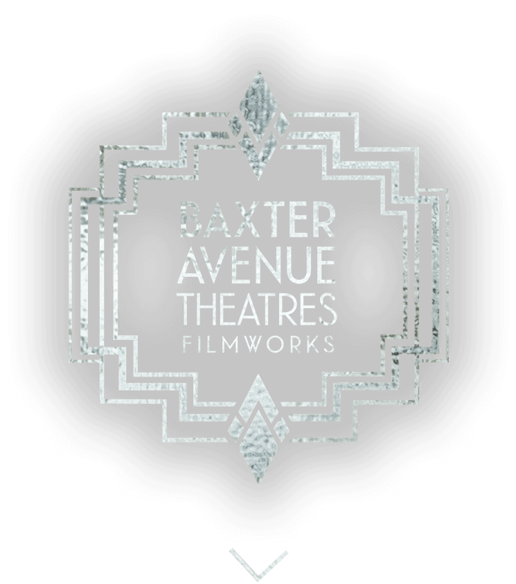 Logo for Baxter Avenue Theatres Filmworks